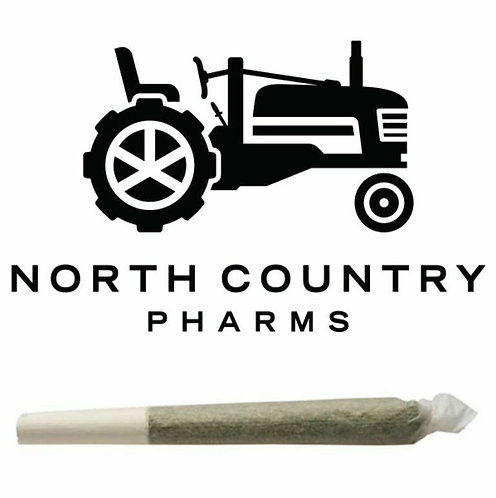 North Country Pharms PreRoll Grapegasm 1g (25.10% THC)
