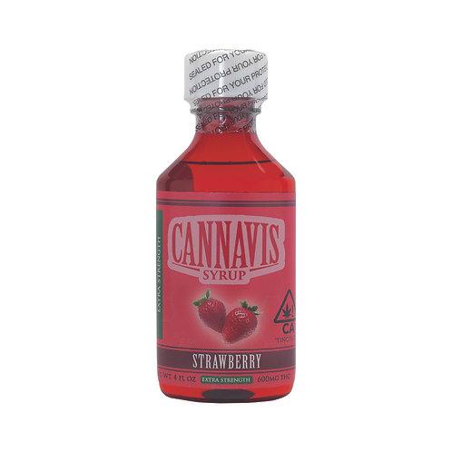 Cannavis Syrup Extra Strength Strawberry 700mgTHC 4oz