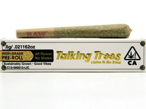 Talking Trees PreRoll Small Sour Diesel 0.6g (19.43% THC)
