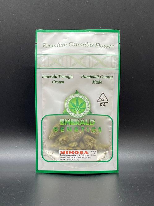 Emerald Genetics Indoor Mimosa 3.5g (20.98% THC)