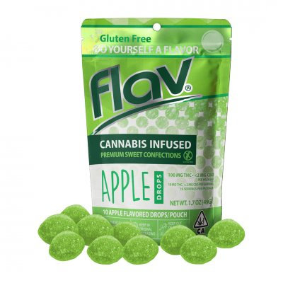 Flav Sweet Drops THC Apple 100mgTHC