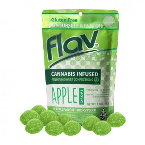 Flav Sweet Drops THC Apple 100mgTHC
