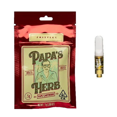 Papa's Herb Cartridge Half Gram Granddaddy Purp .5g (89.39% THC)