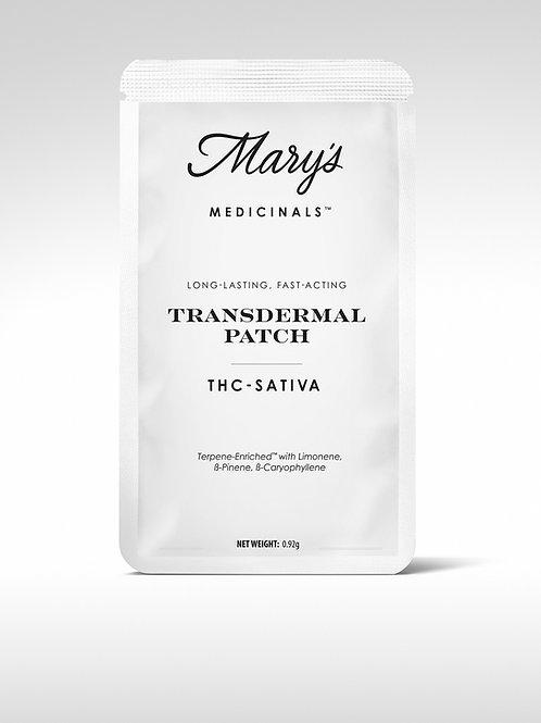 Mary's Medicinals Transdermal Patch Sativa