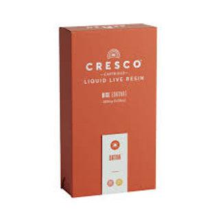 Cresco Cartridge Live Resin Half Gram Lemon Bean 0.5g (75.59% THC)