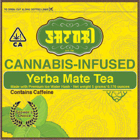 Satori Tea Yerba Mate Growers Choice Single 10mgTHC
