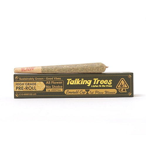 Talking Trees PreRoll Garlic Citral 1g (25.56%THC)