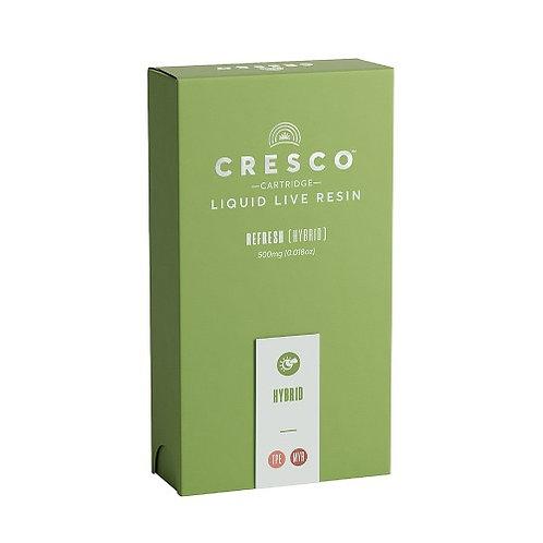 Cresco Cartridge Live Resin Half Gram Grape Stomper 0.5g (76.41% THC)