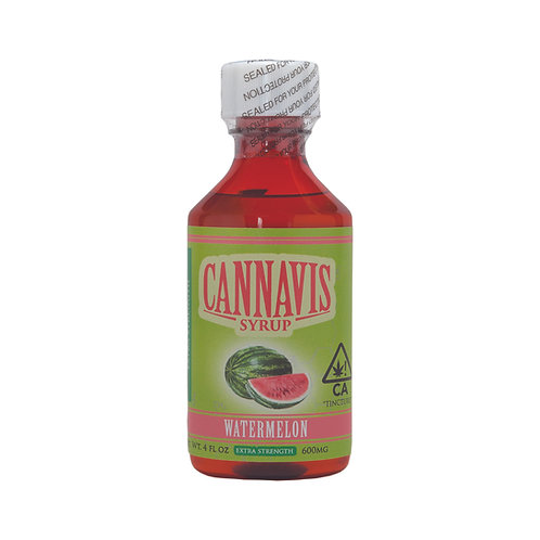 Cannavis Syrup Extra Strength Watermelon 700mgTHC 4oz