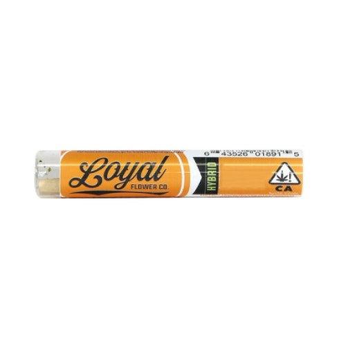 Loyal PreRoll Sugar Black Rose 1g (16.73% THC)