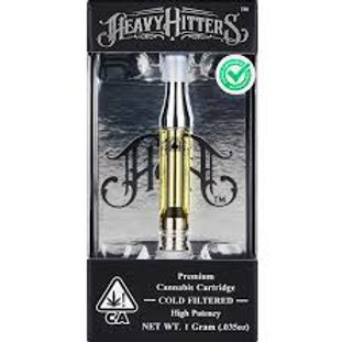 Heavy Hitters Cartridge Cherry Lime 1g (83.00% THC)