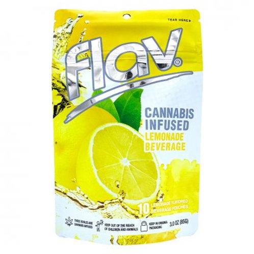 Flav Beverage Pouches THC Lemonade 100mgTHC