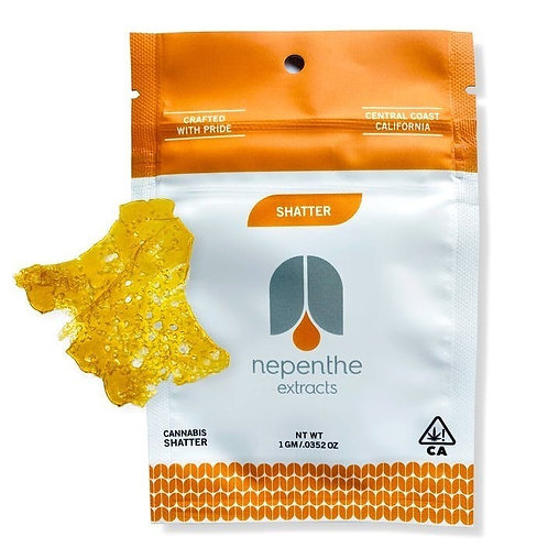 Nepenthe Extracts Mike Larry OG Shatter 1g (67.91%THC)