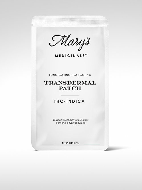 Mary's Medicinals THC Transdermal Patch Indica