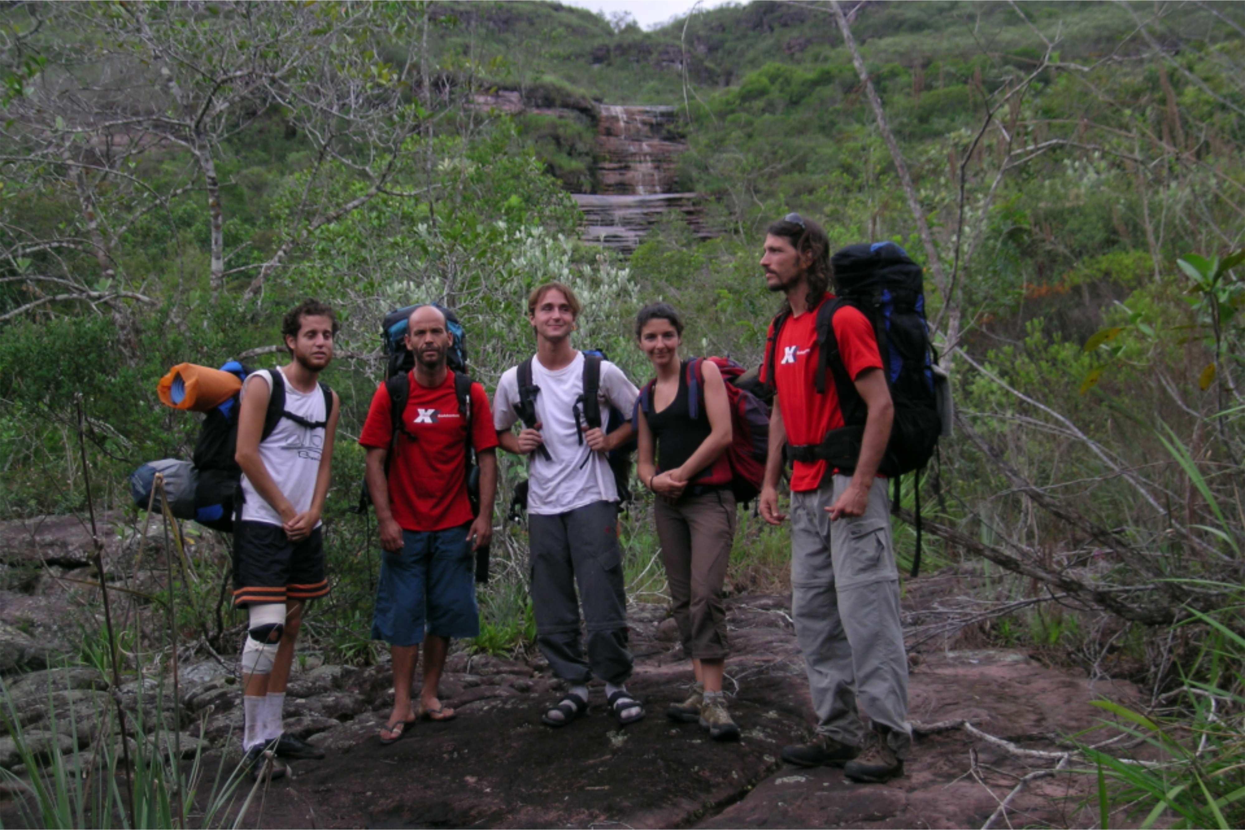 Equipe Extreme - trilha do garimpo