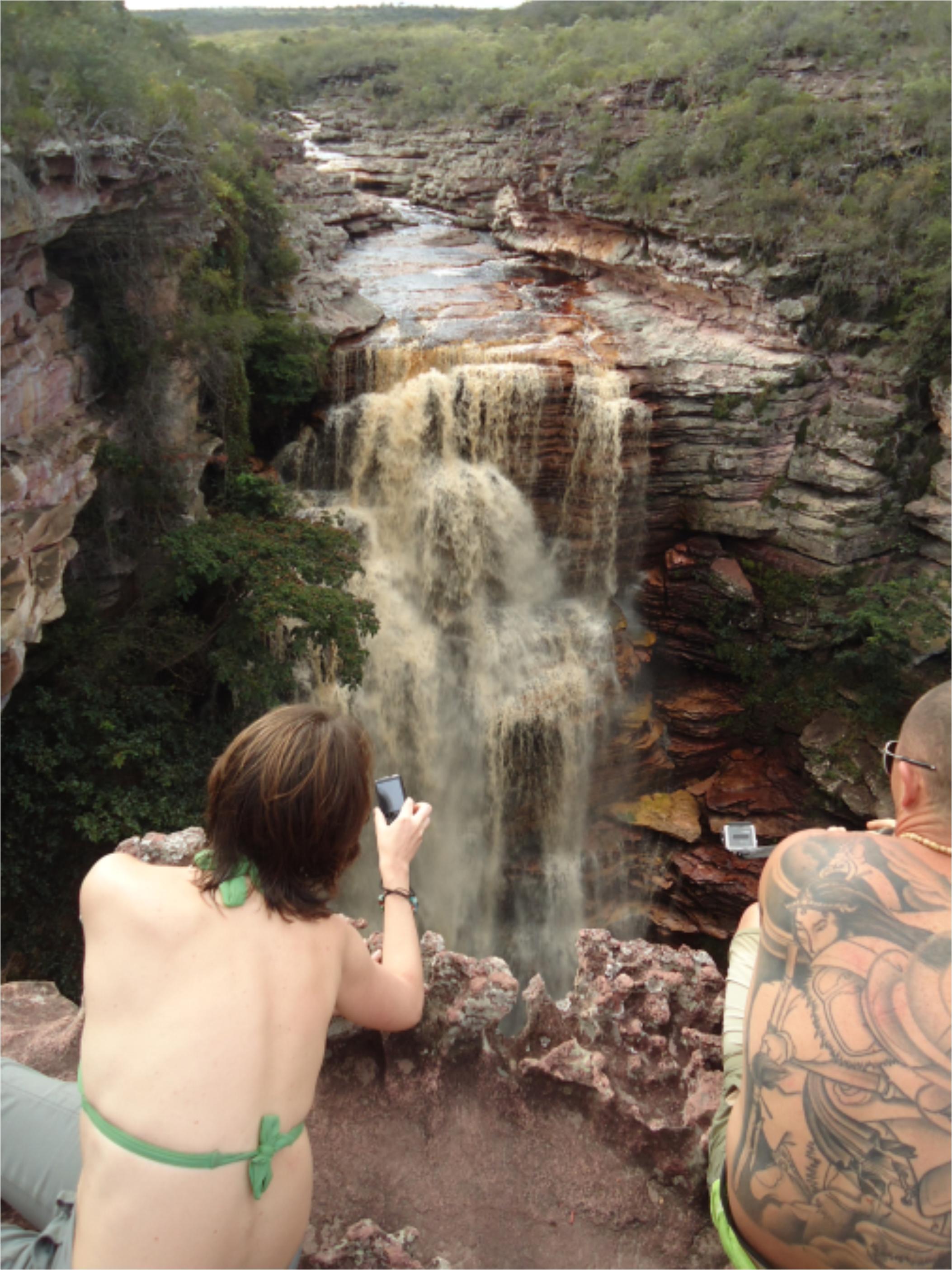 Cachoeira do Buracão vista por cima