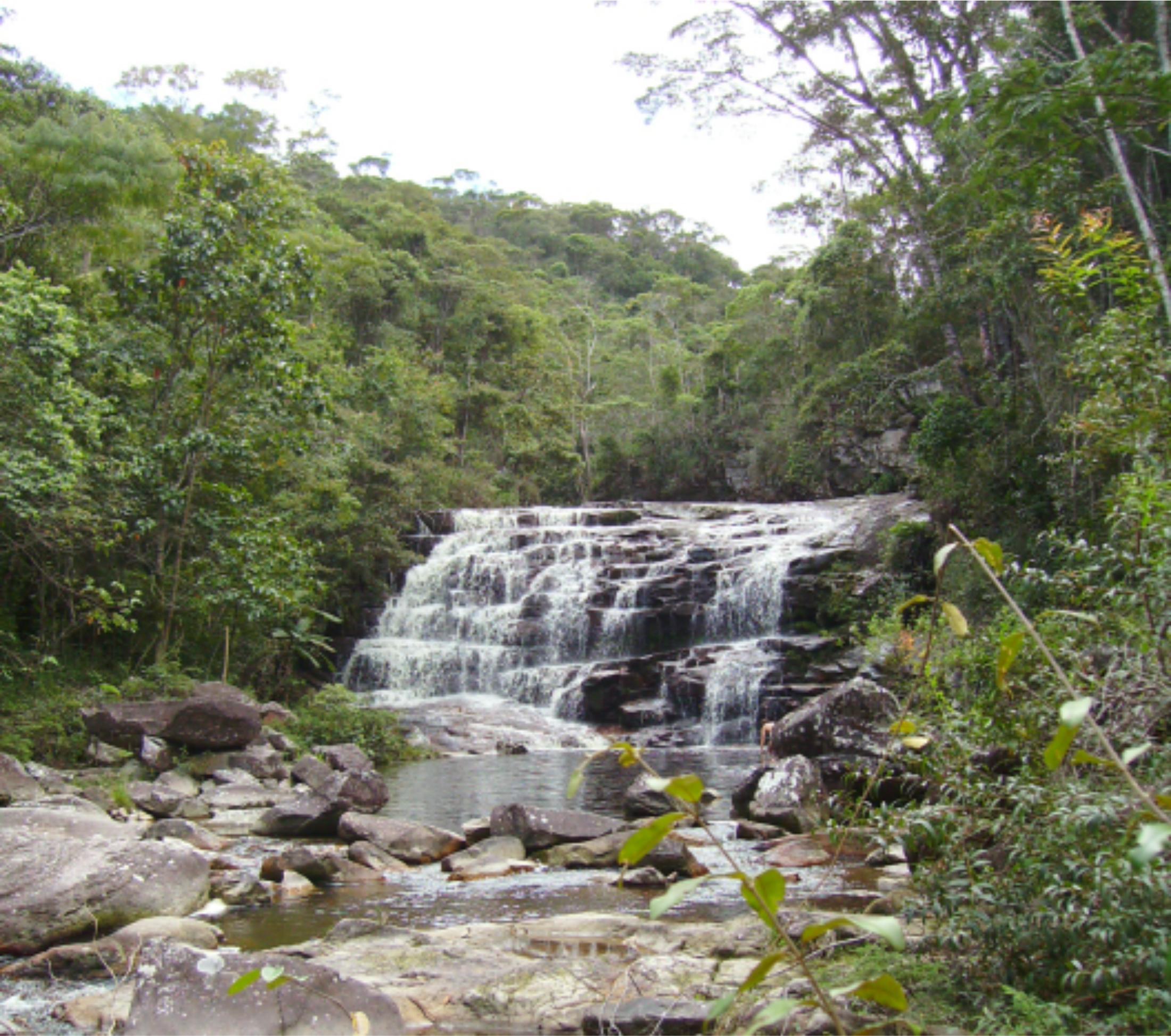 Cachoeira no rio Pati