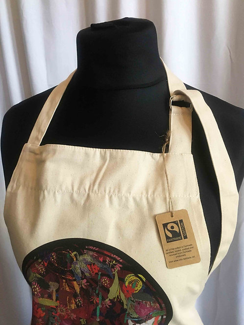 Fairtrade 'Circle of Life' Apron