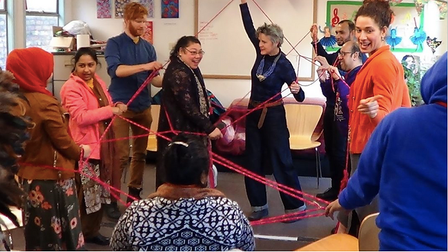 Disabled people get creative with 'awesome' East End arts project