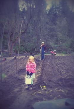 Farm work is good work!