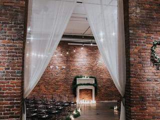 How do I style my blank canvas wedding venue?