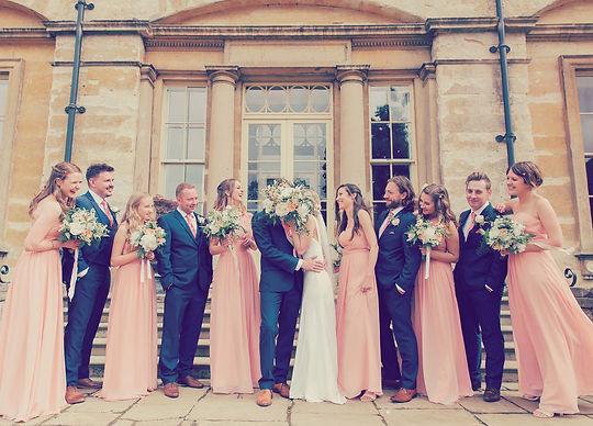 UK Wedding bridal party