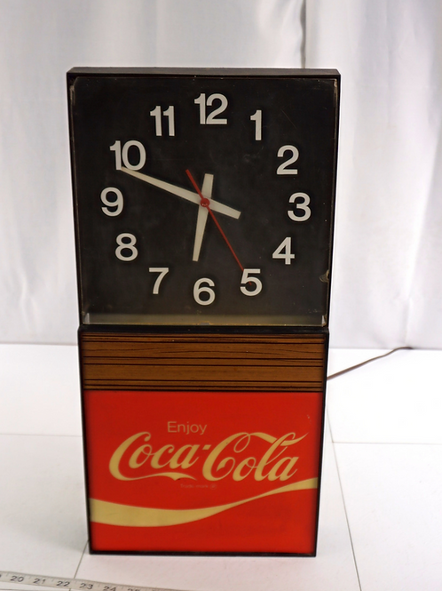 Advertising Enjoy Coca Cola Clock