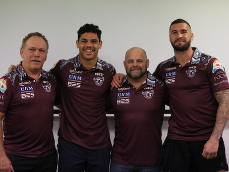 INDIGENOUS INSPIRED SHIRTS FOR THE SEA EAGLES
