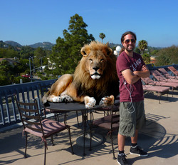 Christopher and the Lion