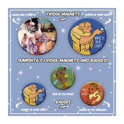 Magnets & Badges
