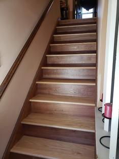 Mahogony Stair Treads