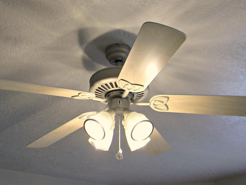 Awesome White Ceiling Fan With Light