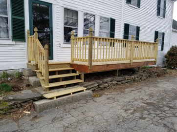 Small Deck & Stairs