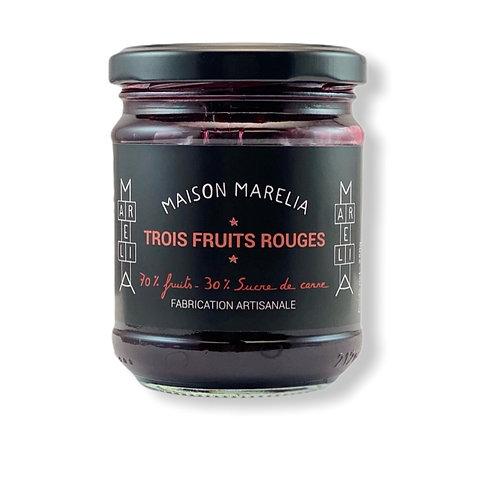 TROIS FRUITS ROUGES