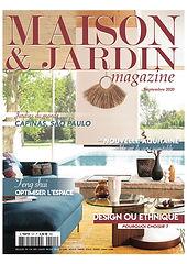 article de presse Maison Marelia par Maison & Jardin