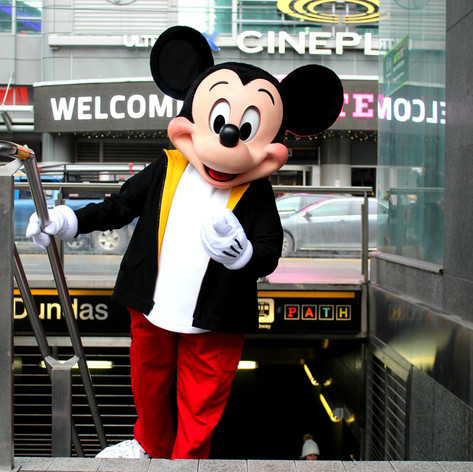 #MickeyInTO