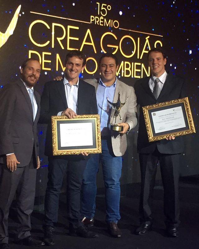 A RNV Resíduos, em parceria com a Alphaville Urbanismo, foram campeãs do 15º Premio CREA de Meio Amb