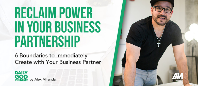 6 Healthy Boundaries in Successful Business Partnerships