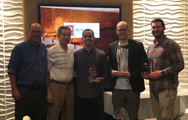 Renlita Celebrates Johnson Architectural Systems As Distributor of The Year