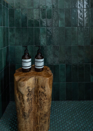 Green-shower-with-teak-stump.jpg