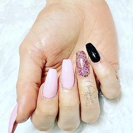 ❤️Pink! ❤️💅🏻😍 #lovenails. #nails #spa