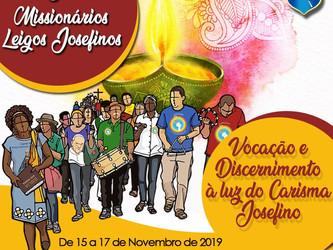 Vocação e Discernimento à luz do Carisma Josefino é tema da XV Jornada dos Missionários Leigos Josef