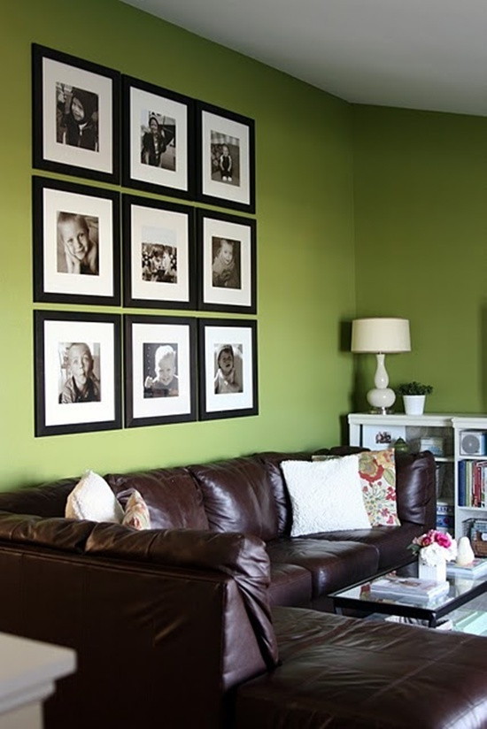 3x3 Framed photo wall