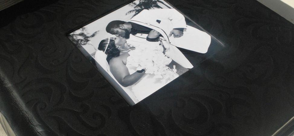 LUXE Album w/ Black Ornate Cover