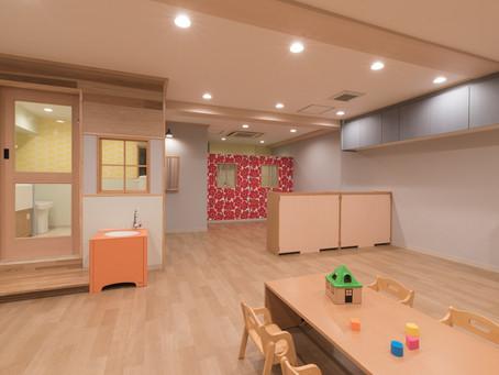 尼崎市内の企業主導型保育園が竣工しました