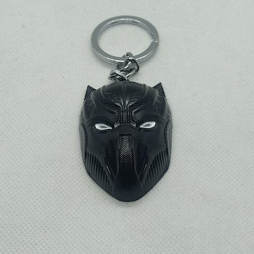 Black Panther Mask Keychain
