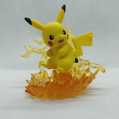 Pokemon Pikachu Thunder Mini Statue