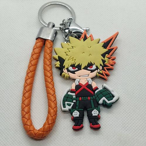 My Hero Academia Bakugo Rubber Keychain