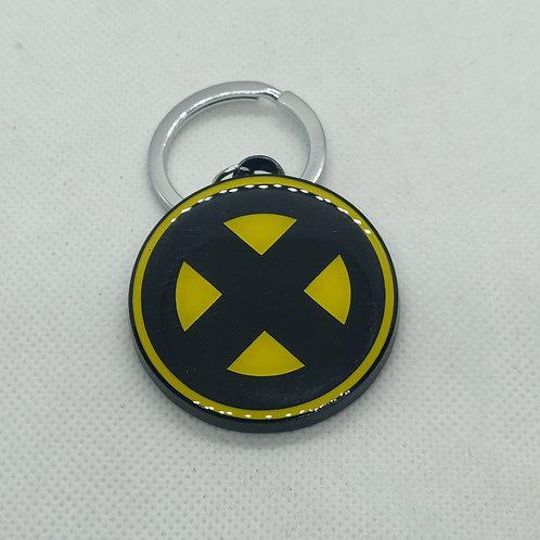 X-Men Logo Metal Keychain