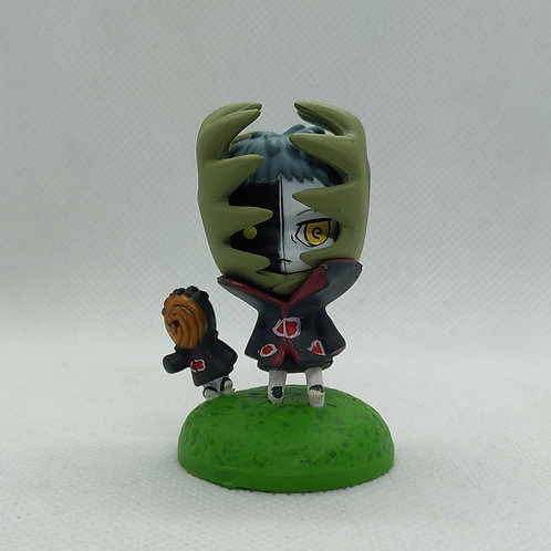 Black and White Zetsu Naruto Mini Figure